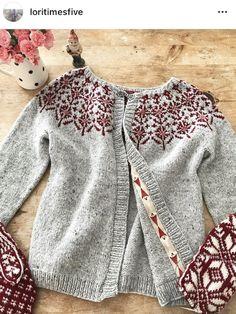 Baby Cardigan, Knit Cardigan, Icelandic Sweaters, Cardigan Fashion, Cardigans For Women, Baby Knitting, Knitting Patterns, Knit Crochet, Clothes