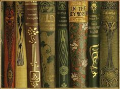 Art Nouveau and Arts & Crafts book covers