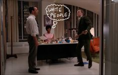 Mad Men Screenshots with Things Drawn On Them: Photo