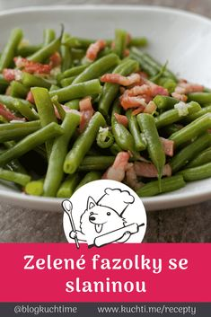 Green Beans, Good Food, Low Carb, Vegetables, Cooking, Recipes, Diet, Kitchen, Veggies