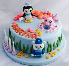 Vanilla Frost: Apricot and Almond Cookies (and Another Octonauts Cake!)