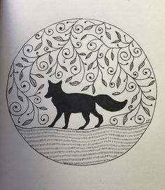 A personal favourite from my Etsy shop https://www.etsy.com/au/listing/509903821/fox-drawing-wall-art-print-of-original