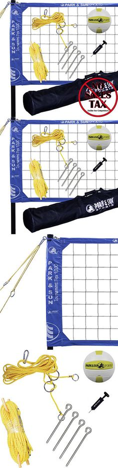 Nets 159131: Park And Sun Sports Tournament Flex 1000: Portable Outdoor Volleyball Net System -> BUY IT NOW ONLY: $217.79 on eBay!