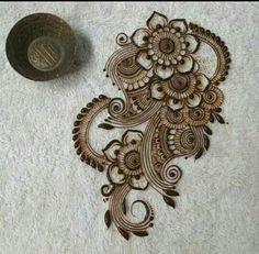 Henna Flower Designs, Basic Mehndi Designs, Mehndi Designs For Beginners, Mehndi Designs For Girls, Bridal Henna Designs, Mehndi Designs For Fingers, Dulhan Mehndi Designs, Beautiful Henna Designs, Latest Mehndi Designs