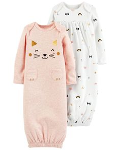 Clothing, Shoes & Accessories Practical Butterfly Sleep Sack Gown Newborn 0-3 Pajamas Girl Lot Clothing Baby Bird Pink Baby & Toddler Clothing