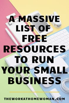 Now more than ever, businesses need to get lean and cut out the extras. If you're looking for FREE tools and resources to run your small business, this list has you covered! Small Business Plan, Small Business Resources, Business Advice, Home Based Business, Small Business Marketing, Business Entrepreneur, Online Business, Business Goals, Internet Marketing