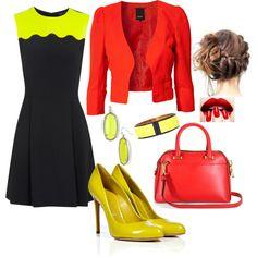 Red, Yellow & Black Variation