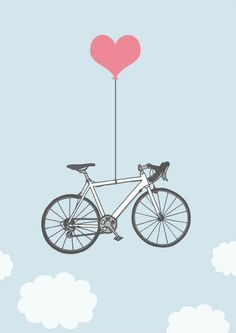 Bike love - this looks like my bike, The Lady Meredith! :)