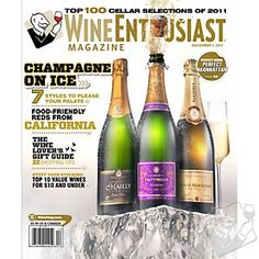 #wineenthusiast   Wine Enthusiast Magazine (3 Years) at Wine Enthusiast - $49.95
