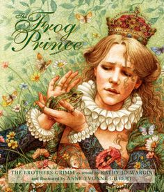 The Frog Prince cover illustrated by Anne Yvonne Gilbert