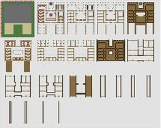 Minecraft large Inn floorplans WiP by ColtCoyote