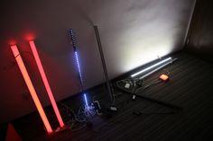 Различные виды линейных архитектурных светильников.