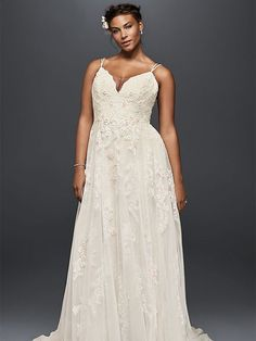 20 Gorgeous Plus-Size Wedding Dresses | TheKnot.com
