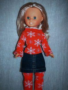 El otro día me fui a un chino y compré varios calcetines para hacer unos jerseys para mis Nancys.    Ya sabéis con los tutoriales deAnilegr...