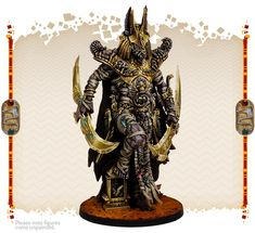 Painted by Angel Giraldez Thousand Sons, Anubis, Pisces, Minis, Egyptian, Samurai, Miniatures, Angel, Painting