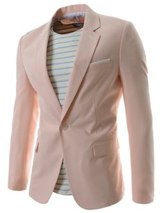 Korean casual business fashion blazers for men. Slim fit single breasted one button blazers, suit clothing for party, club, school, dating, work, wedding. Korean clothes.