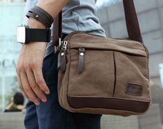 mens leather outdoor bag - Google Search