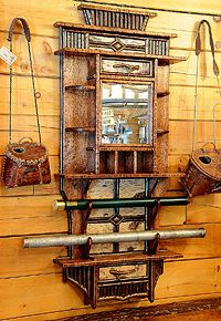 Fly Tying Station Rustic Family Room Other Metro Remick