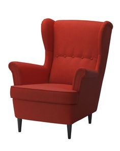 IKEA Stradmon wing chair in orange - fall news 2013.