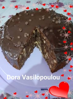 Greek Sweets, Greek Desserts, Cookie Recipes, Dessert Recipes, The Kitchen Food Network, Brownie Cake, Coffee Cake, Food Network Recipes, Chocolate Cake
