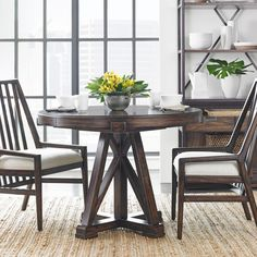 Newel Formal Dining Room Group by Stanley Furniture