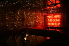 ADVENTURE BAR, CLAPHAM BY   PAUL NULTY LIGHTING DESIGN