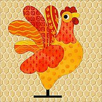 Free applique patterns.