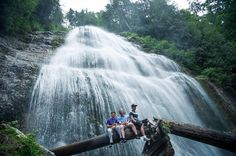 Bridal Veil Falls Re-post by Hold With Hope