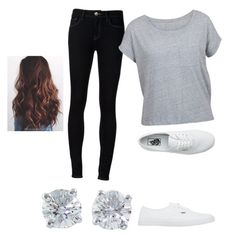 """""""Untitled #388"""" by riah-xo ❤ liked on Polyvore featuring Ström, Vans and Tiffany & Co."""