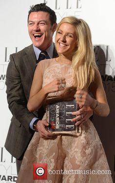 Ellie Goulding, Luke Evans, Elle Style Awards