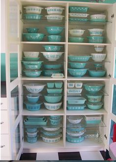 Love old Pyrex.