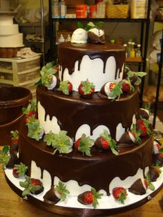 Chocolate And Vanilla Wedding Cake | Recent Photos The Commons Getty Collection Galleries World Map App ...