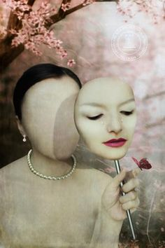 Lost Identity by Lisa Bagherpour - Photoshop Creative Camera World, Identity Art, Human Condition, Digital Camera, Septum Ring, How To Look Better, Photoshop, Hoop Earrings, Lost