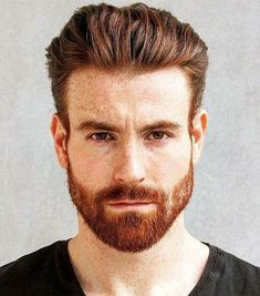 Hot Ginger Men, Ginger Beard, Ginger Hair, Ginger Guys, Red Hair Men, Hair And Beard Styles, Hair Styles, Redhead Men, Quiff Hairstyles