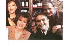 Stefania Sandrelli - Fanny Ardant - Gincarlo Giannini e Vittorio Gassman - La cena di Ettore Scola