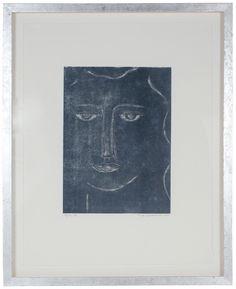"56340- Rob Delamater, 2014, Monoprint on Paper, 17""x21"" Framed"