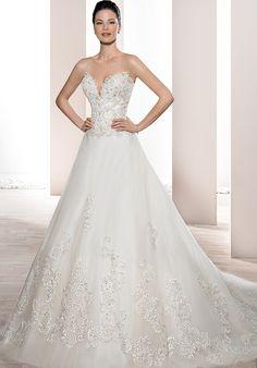 Demetrios 733 Ball Gown Wedding Dress