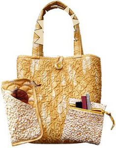 Bags and Totes | Project bags | Pouches | DIY | Texture Tote & Accessories pattern