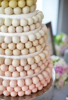 Cake pops never looked so elegant.