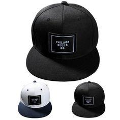 Chicago Snapback Cap Bone Baseball Hat Golf Cap Sport Hat for Women Men Outdoor Sport