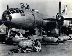 """American Soldier recording """"memories"""" about the bombs that are about to launch over Japan."""