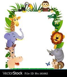 animal-cartoon-frame-vector.jpg (380×440)