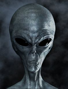 Grey alien (Not very friendly at all)