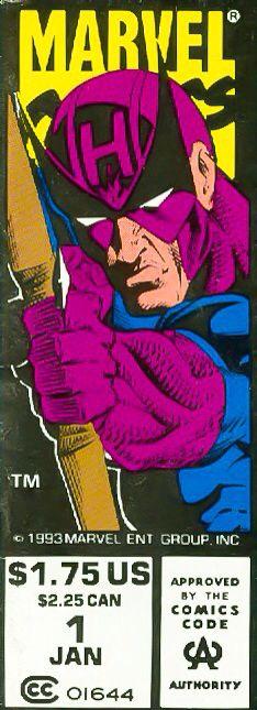 Marvel corner box art - Hawkeye