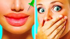 Check out a top selection of beauty secrets that will change your life: -We share a cool lifehack to make your lips l. Makeup Tricks, Makeup Hacks Videos, Makeup Life Hacks, Eye Makeup Tips, Beauty Hacks Video, Diy Makeup, Makeup Ideas, 5 Minute Crafts Videos, 5 Min Crafts