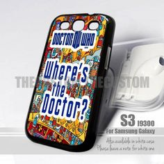 Doctor Who Tardis Design for Samsung Galaxy S3 fit 9300