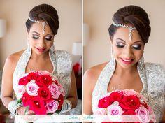 Vishala & Jose Indian Wedding Bride
