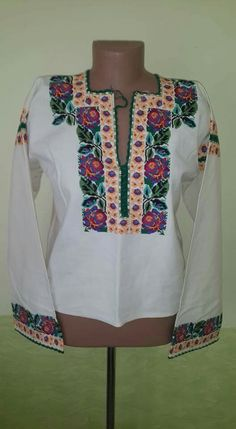 Путильська Polish Embroidery, Embroidery Patterns, Cover Up, Gowns, Costumes, Suits, Lace, Model, Clothes