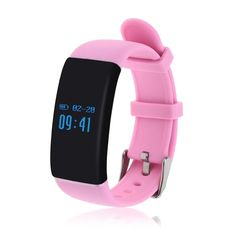 Smart bracelet - TOOGOO(R) D21 Fitness Tracker,Touch Screen Accurate Sleeping Monitor Pedometer Smart Band Wireless Activity Wristband (Pink) >>> You can get more details by clicking on the image.