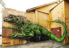 Basura que es arte, el street art de Bordalo II (Yosfot blog)